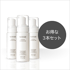NOANDE ADVANCED CLEASENCE SOAP【お得な3本セット】